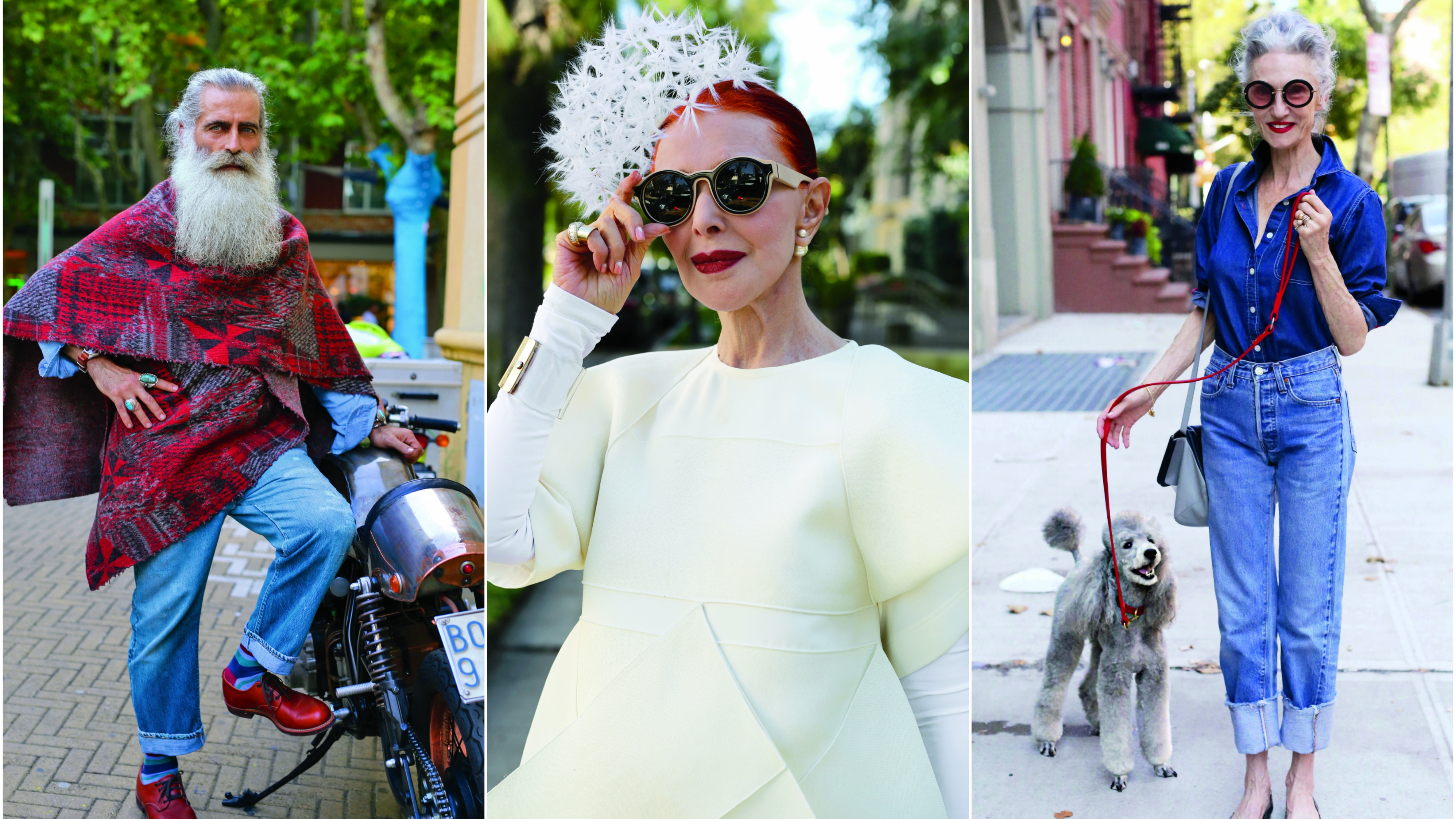 Photos: Ultra-fashionable seniors are proof that style can get better with age