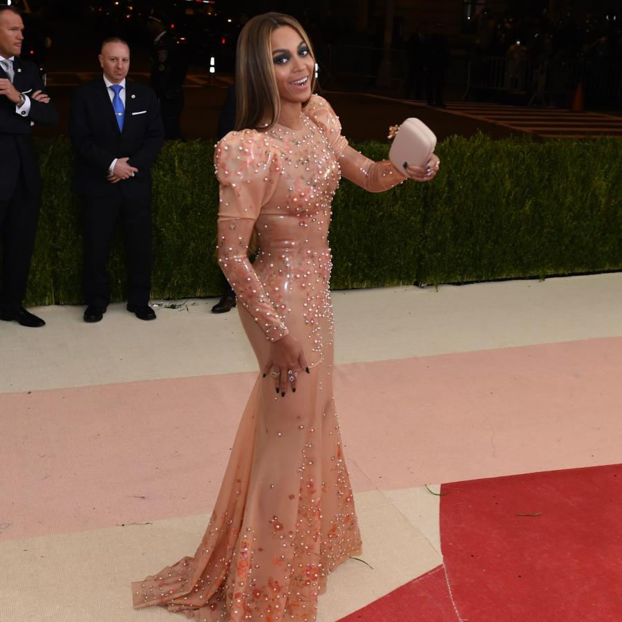 Beyoncé has rocked a Givenchy dress for the last five Met Galas at ...