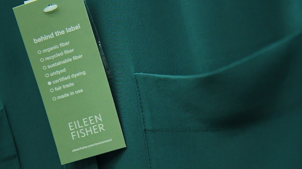 An Eileen Fisher tag