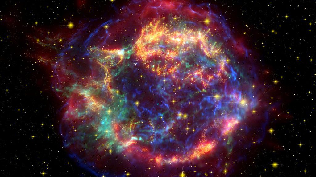 cassiopeia supernova NASA
