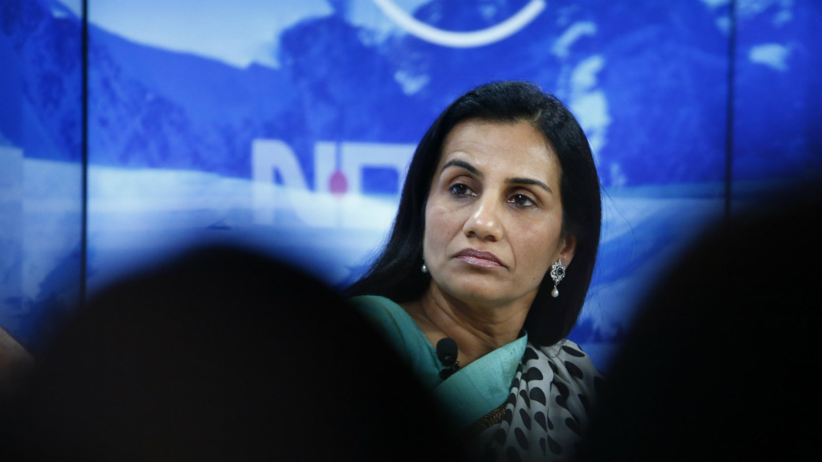 Chanda Kochhar, Managing Director and Chief Executive Officer of ICICI Bank listens during the session 'India's Next Decade' in the Swiss mountain resort of Davos January 23, 2015. More than 1,500 business leaders and 40 heads of state or government attend the Jan. 21-24 meeting of the World Economic Forum (WEF) to network and discuss big themes, from the price of oil to the future of the Internet. This year they are meeting in the midst of upheaval, with security forces on heightened alert after attacks in Paris, the European Central Bank considering a radical government bond-buying programme and the safe-haven Swiss franc rocketing.