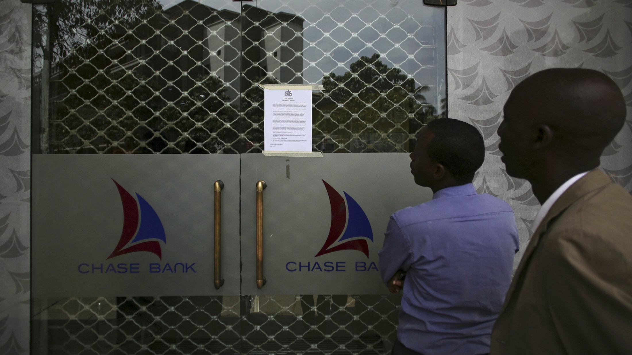 Chase Bank in Nairobi