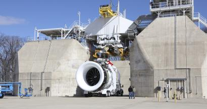 GE fired up world's largest commercial jet engine using 3D