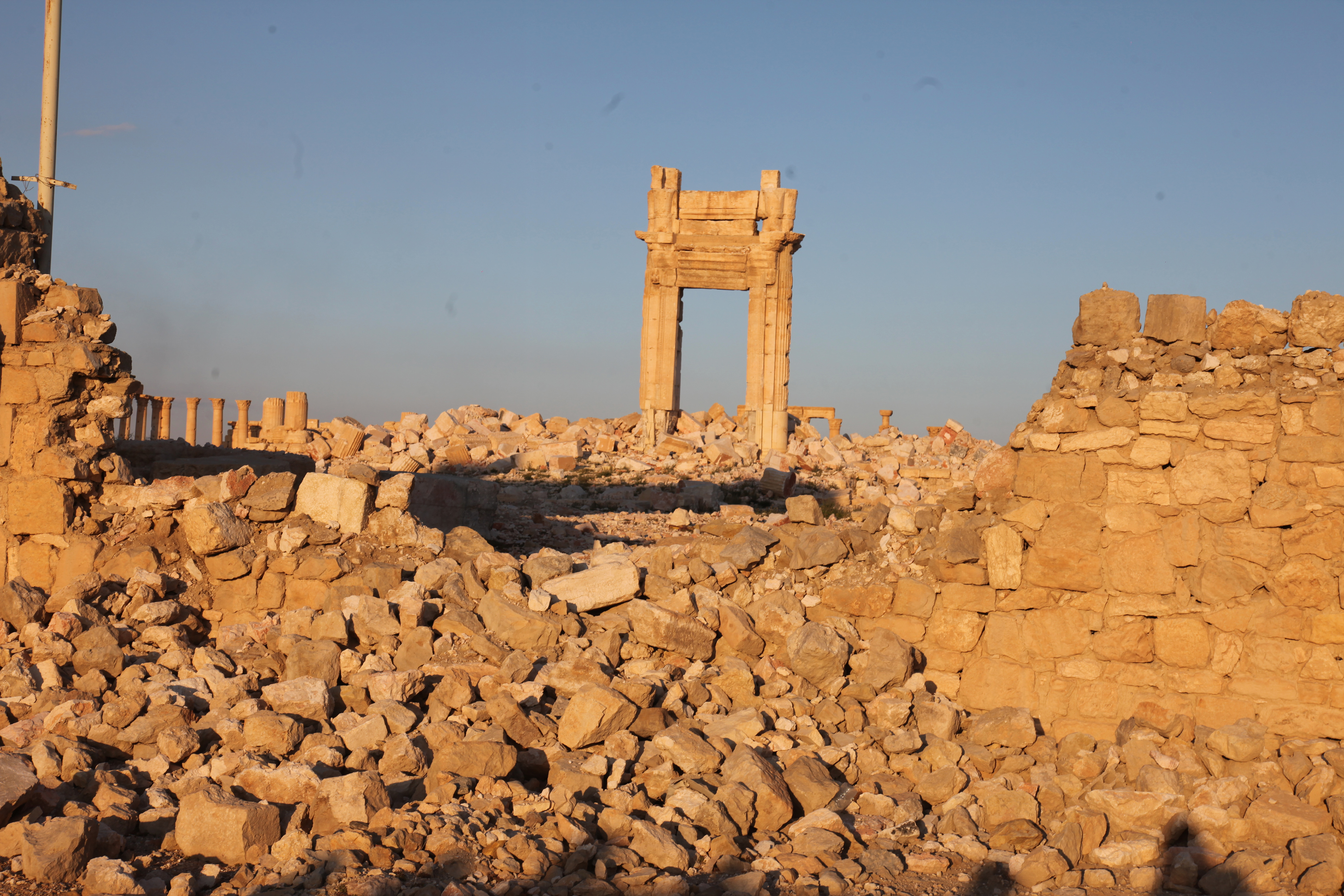 Another view of Palmyra, 29 March 2016.