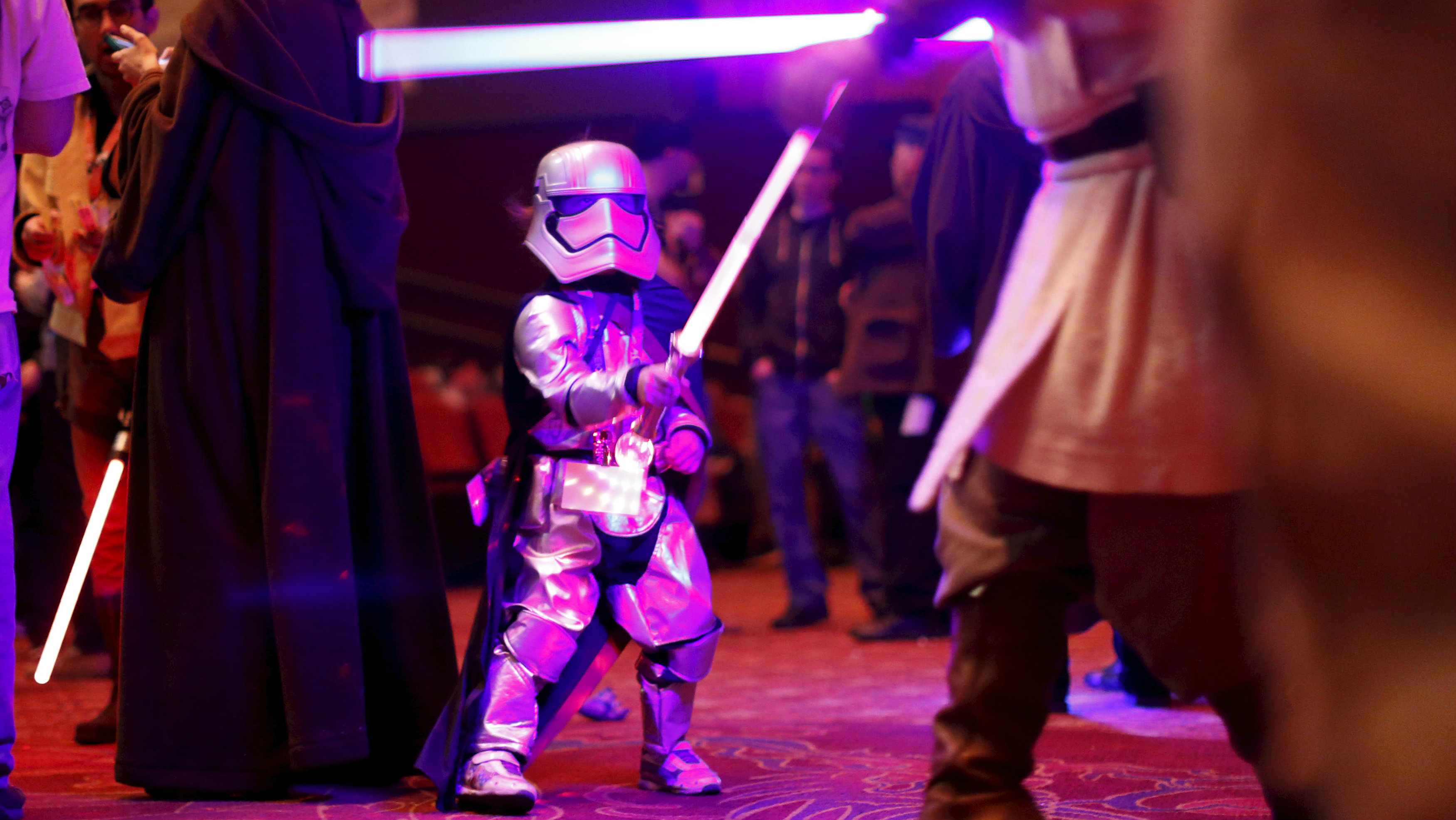 lightsaber kid