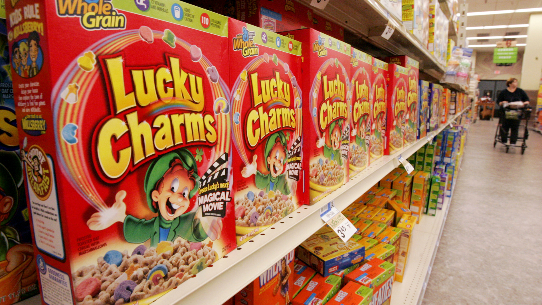 The nettlesome task of getting Lucky Charms just right.