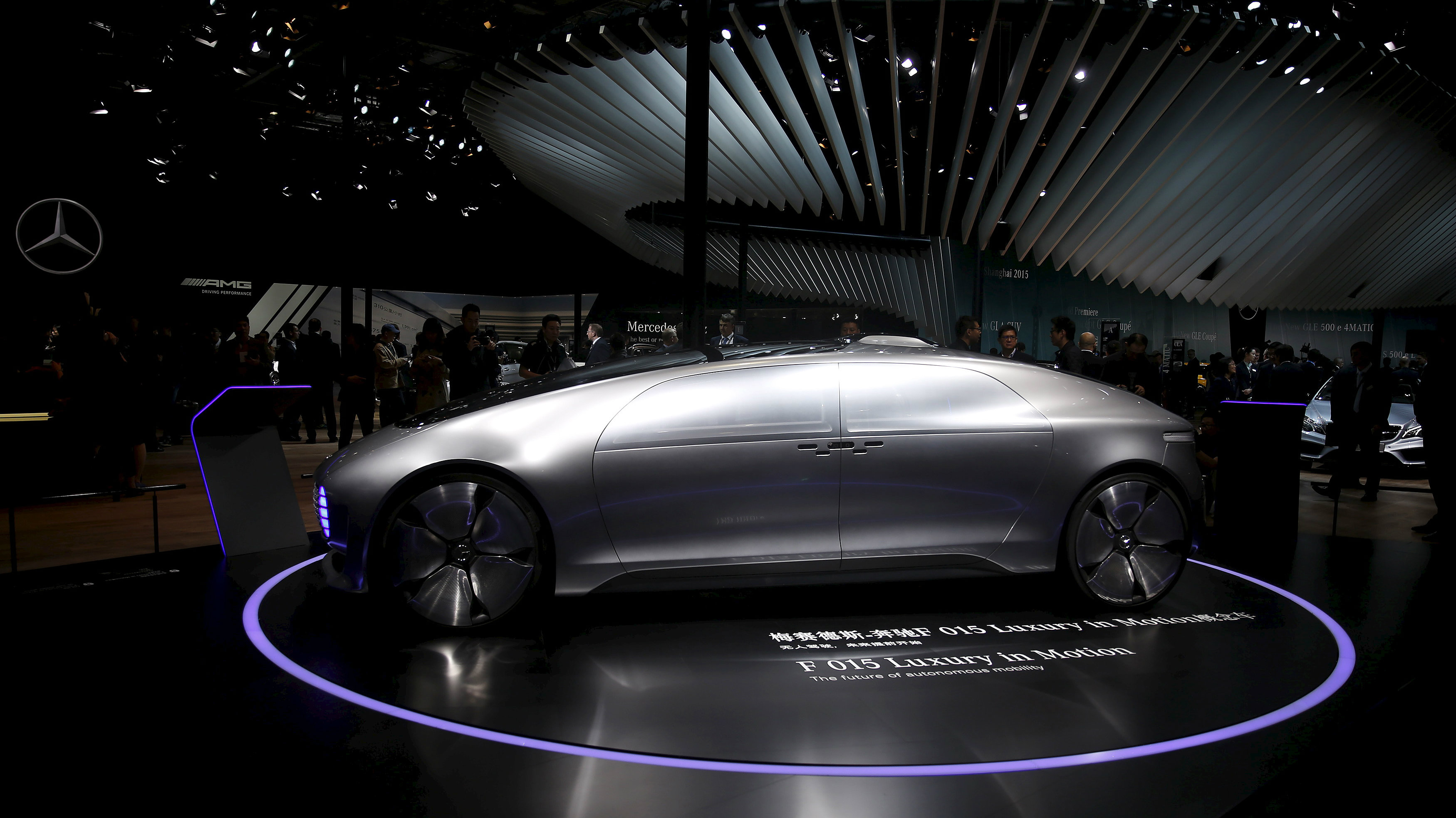mercedes automated car