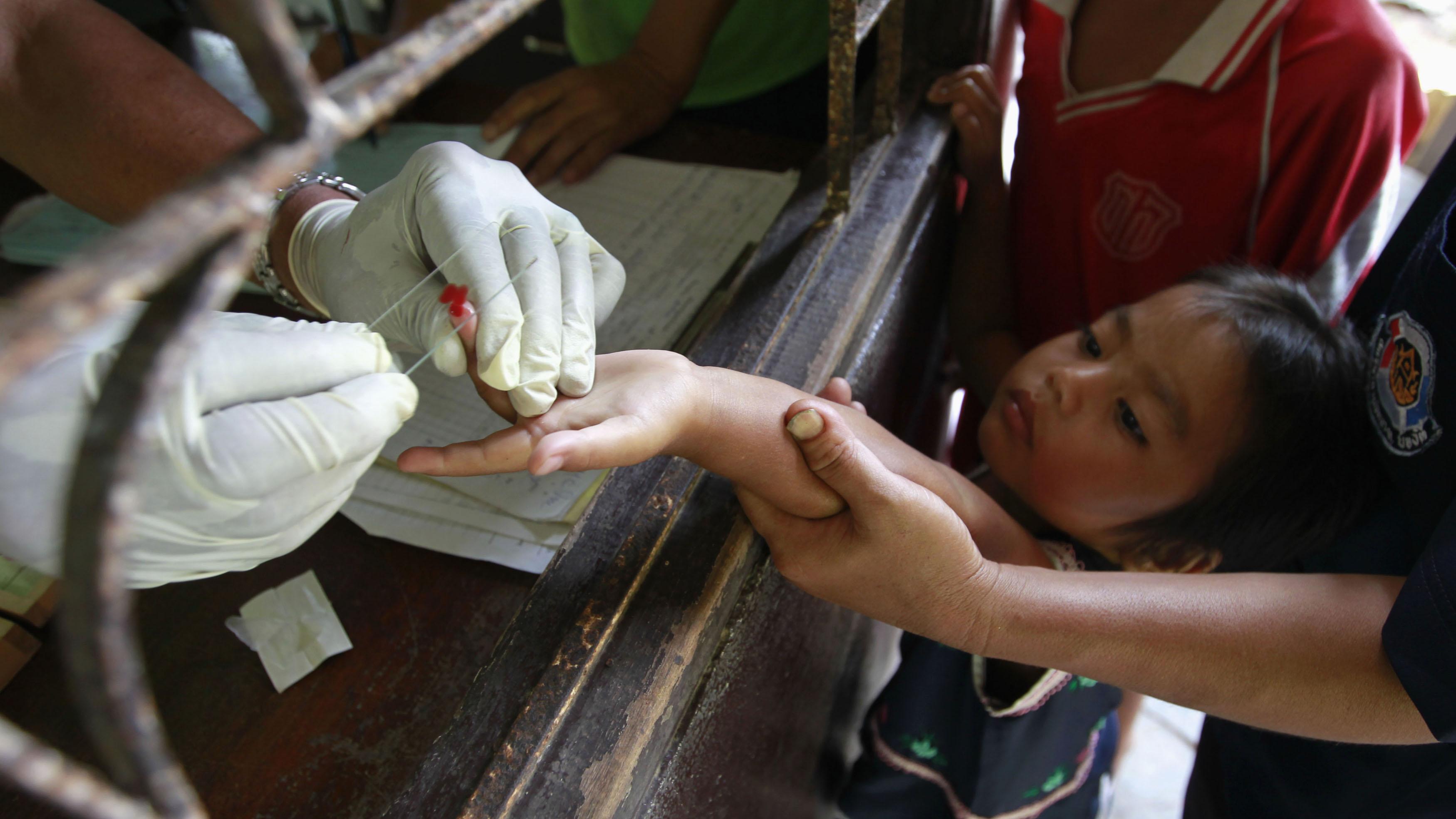 Malaria testing