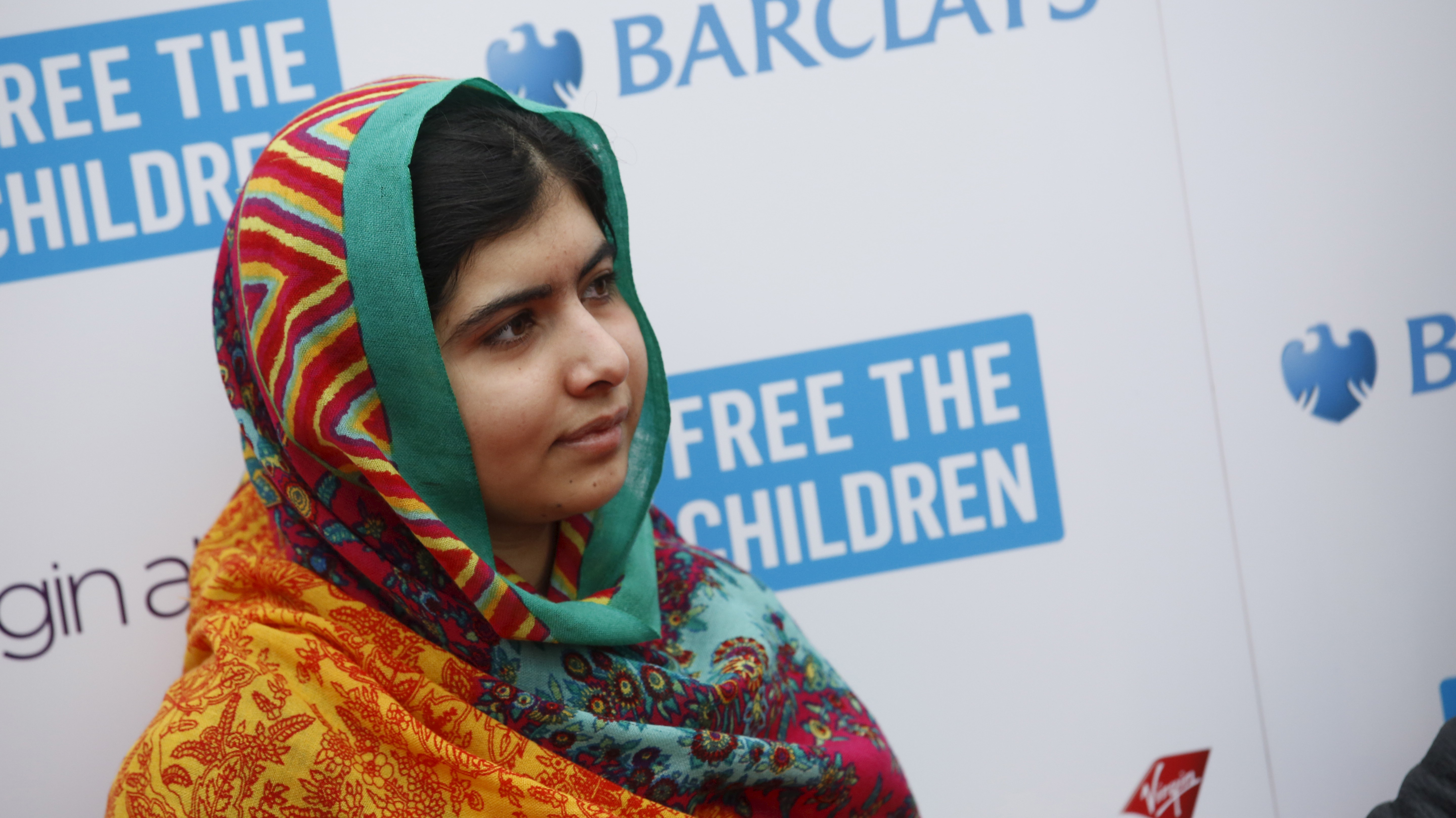 Malala Yousafzai arrives for the We Day UK event at Wembley Arena in London March 7, 2014.  The inaugural We Day UK event is run by the charity Free the Children to inspire young people to take action on global issues in a voluntary capacity. (BRITAIN)  BEST QUALITY AVAILABLE  - RTX1M4NH