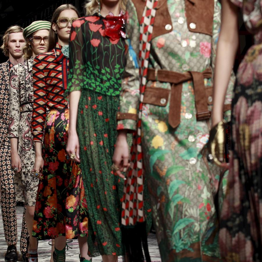 12ca0bc23b2 Gucci is the latest to end the needless separation of men s and women s  shows on the runway — Quartz