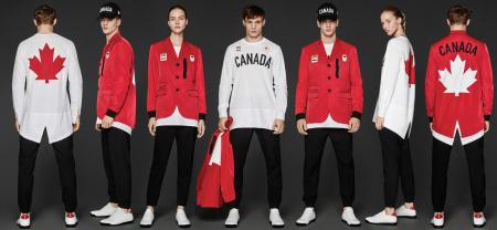 Dsquared's looks for team Canada