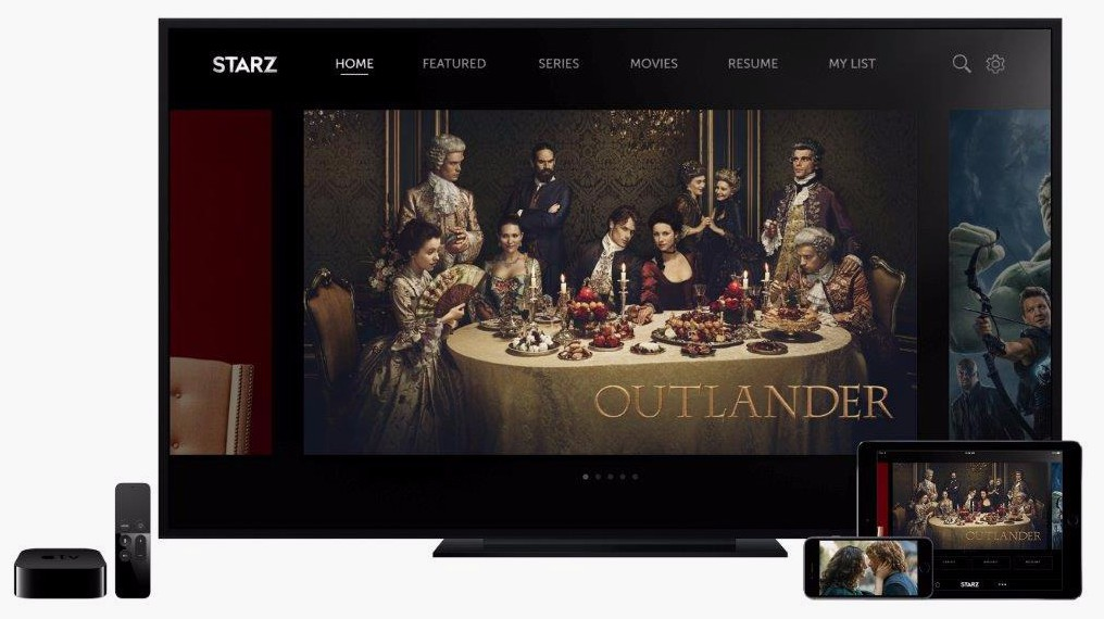 Starz is joining the streaming party.