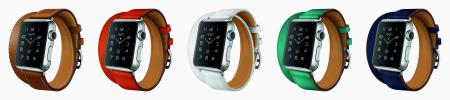 Apple's new bands in collaboration with Hermès