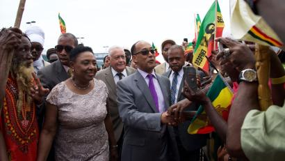 An Ethiopian prince's visit to Jamaica relives the early days of