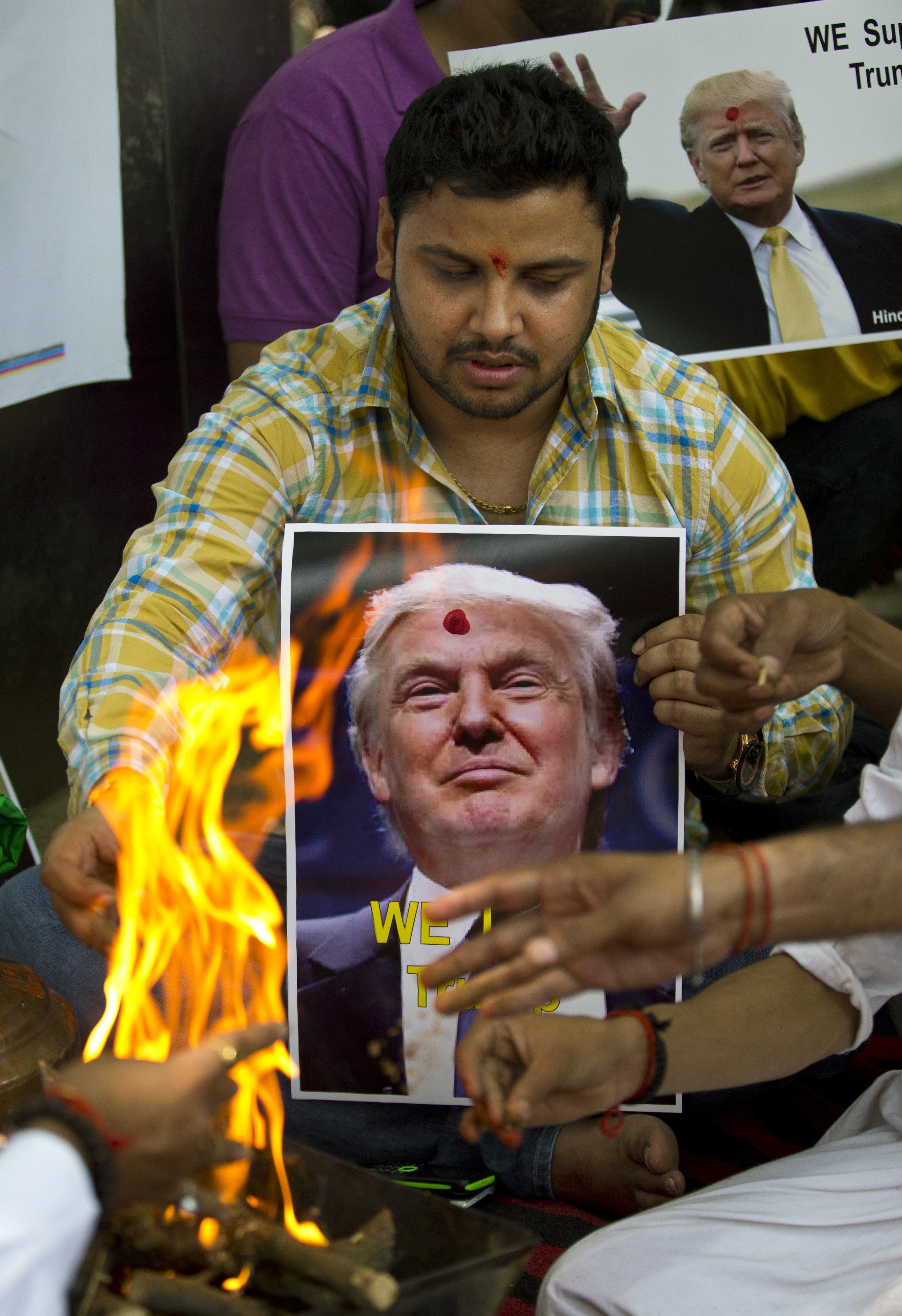 India-Trump