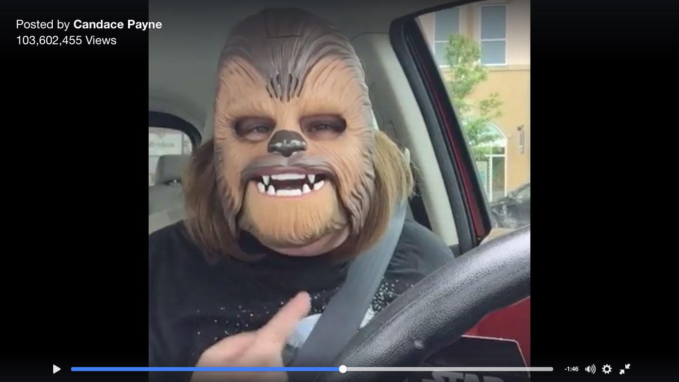 chewbacca mask candace payne