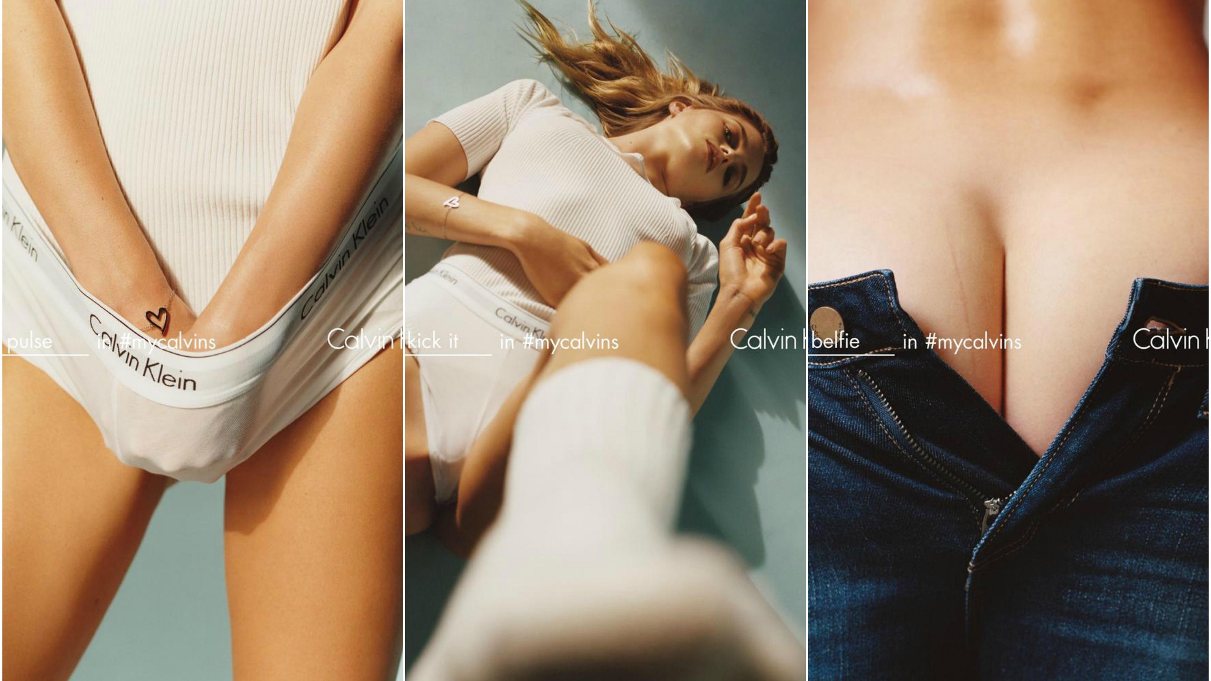 Calvin Klein's spring 2016 campaign
