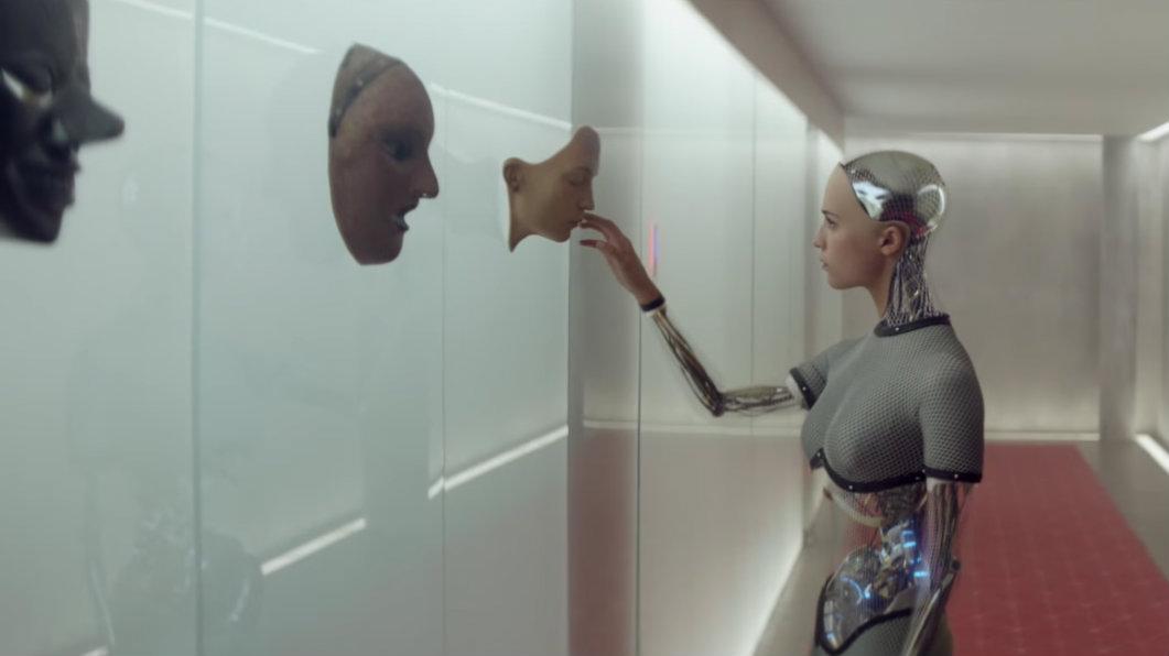screenshot from ex machina trailer
