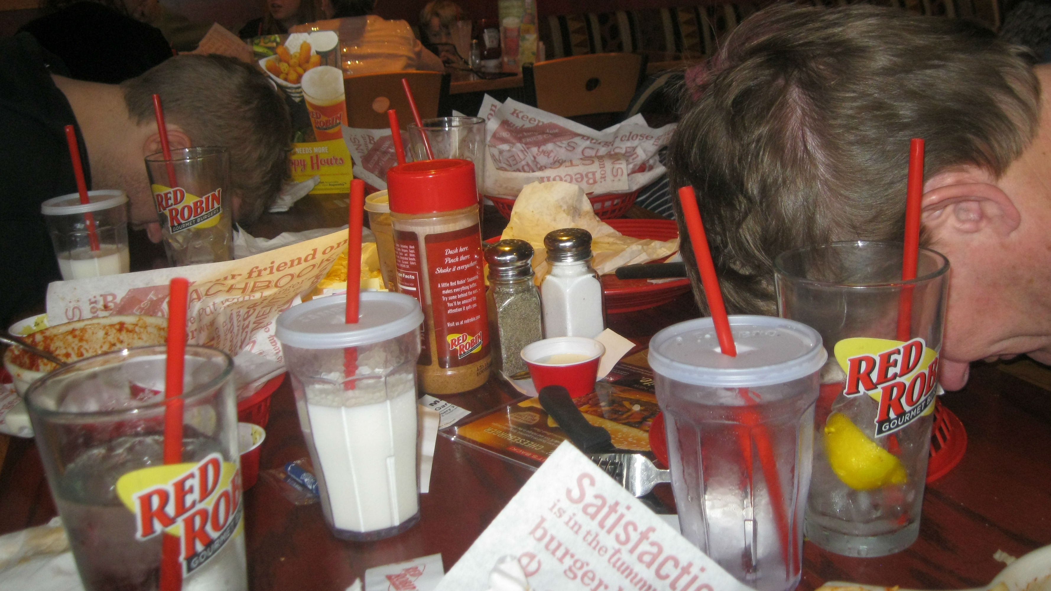 red robin food coma