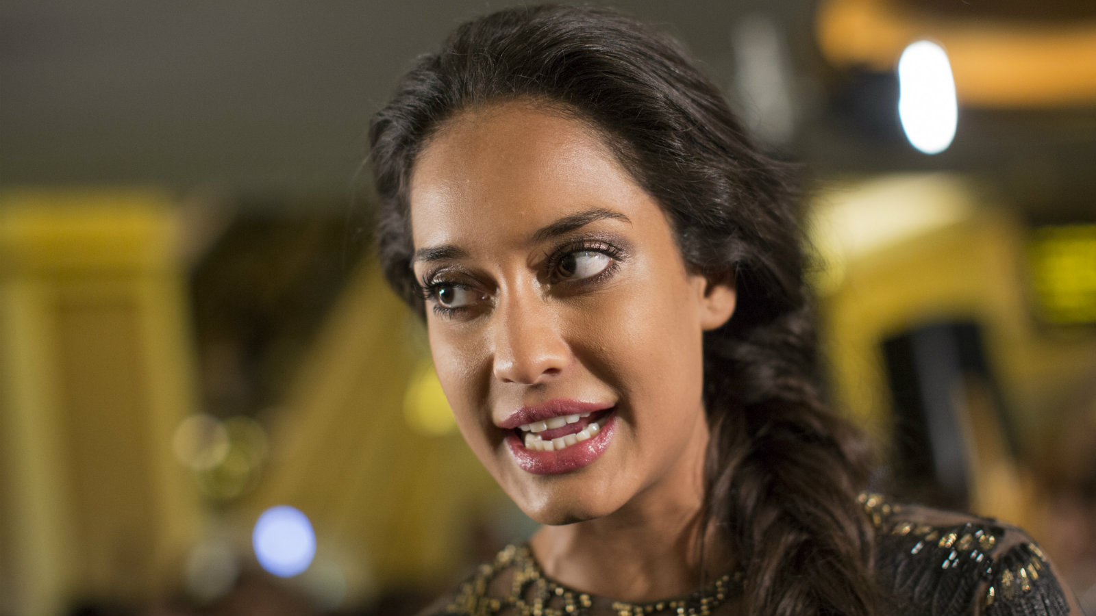 Indian actress Lisa Haydon arrives for the International Indian Film Academy (IIFA) awards ceremony at the Venetian hotel in Macau, China, 06 July 2013. The 14th edition of the IIFA Awards commemorates 100 years of Indian cinema and runs from 04 to 06 July.