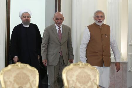 India-Iran-Afghanistan