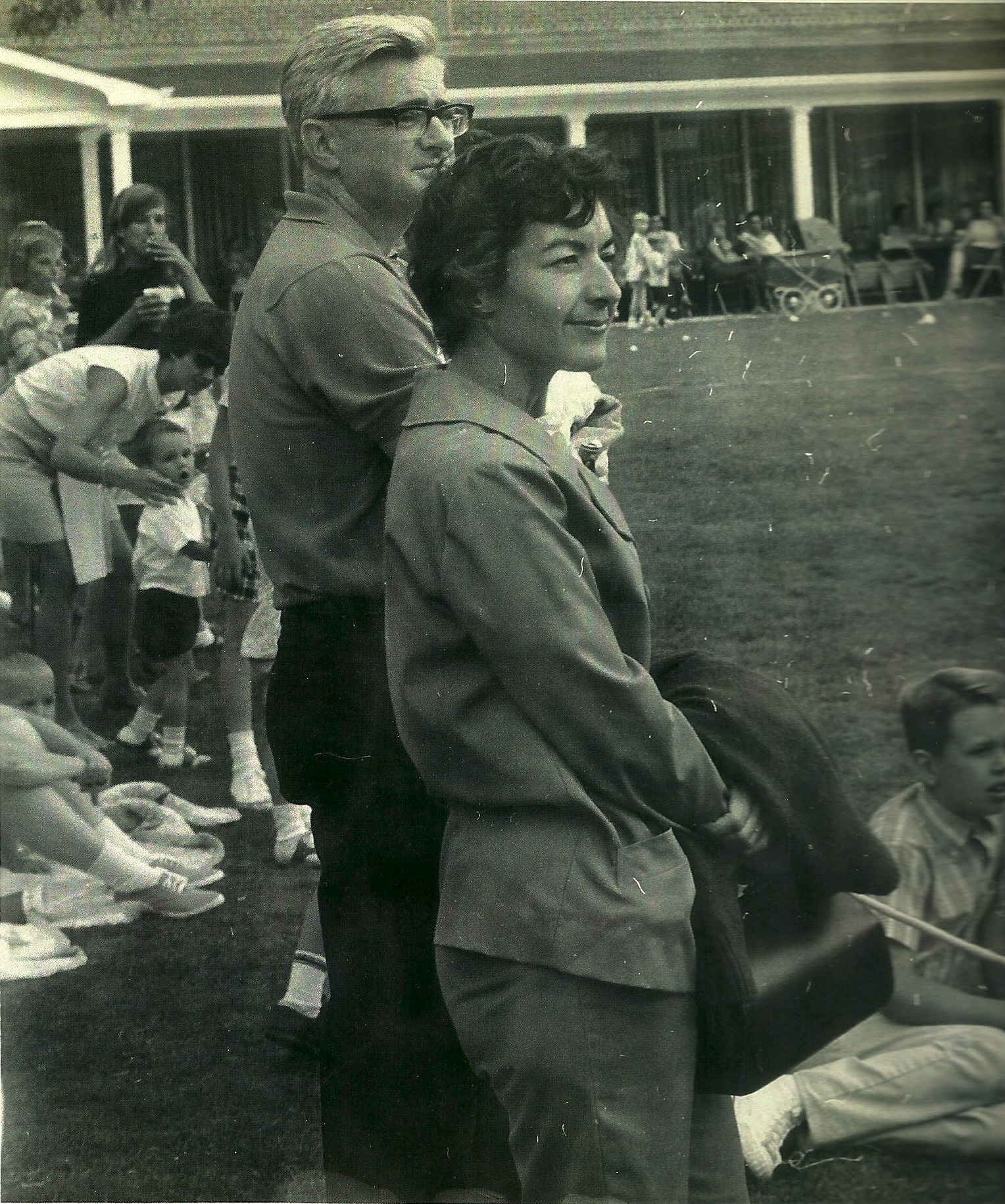 Norma and Jack Guyon at a GE picnic in 1968.