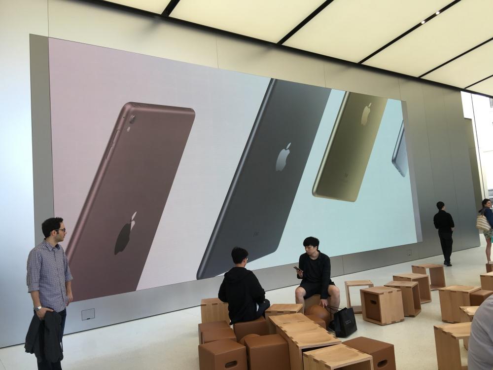 large iphone display