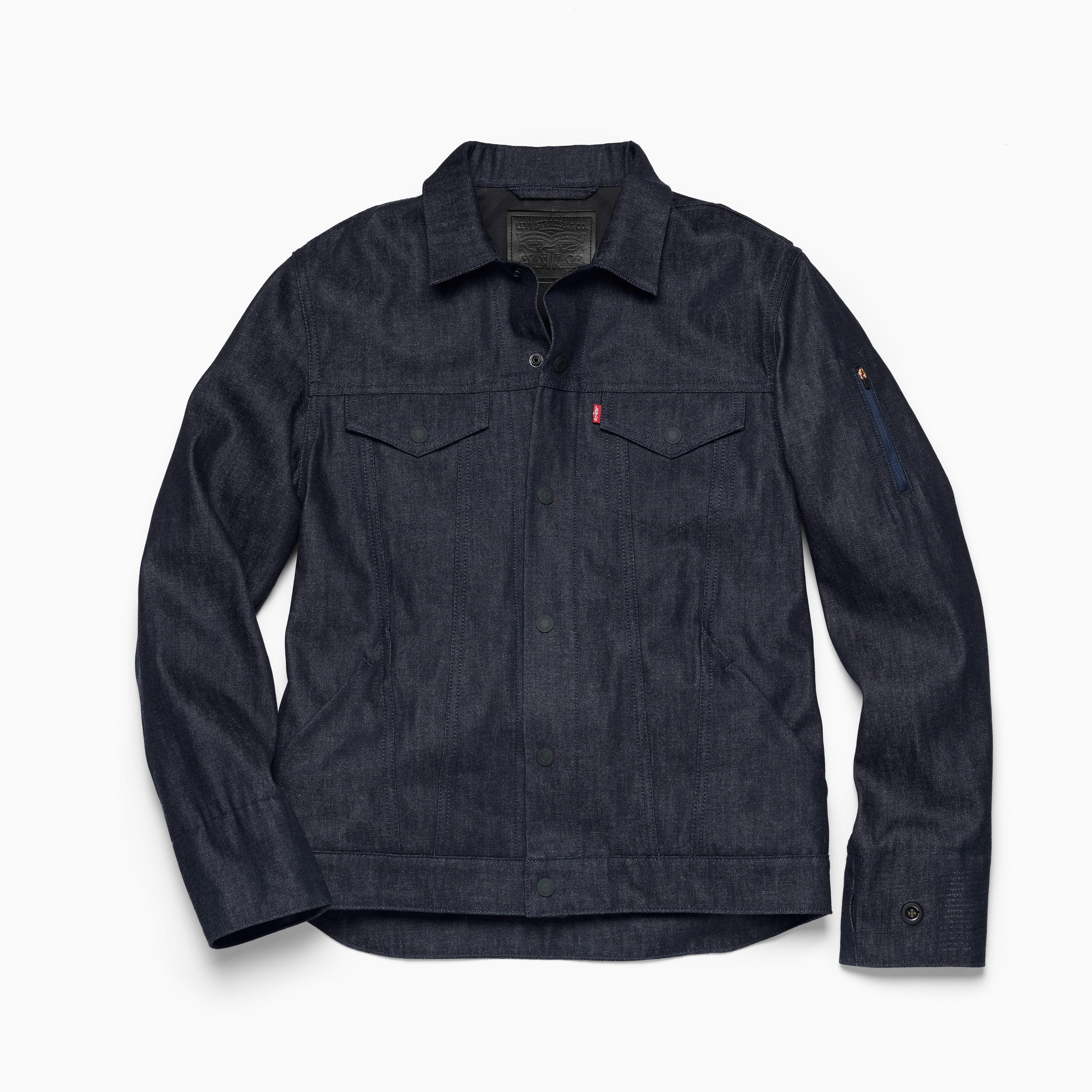 Levi's Commuter Trucker jacket project jacquard