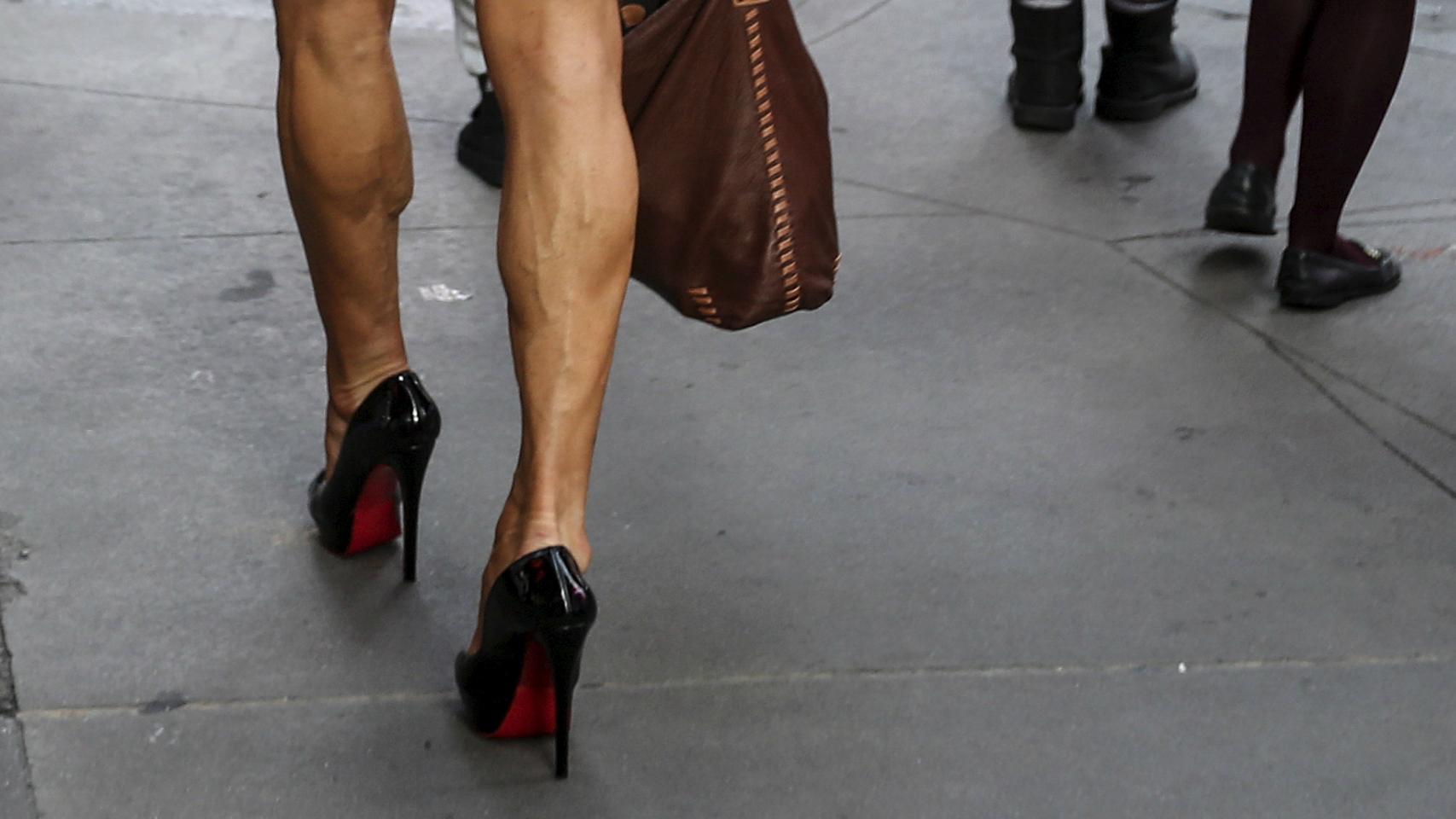 It's legal to make women wear heels to