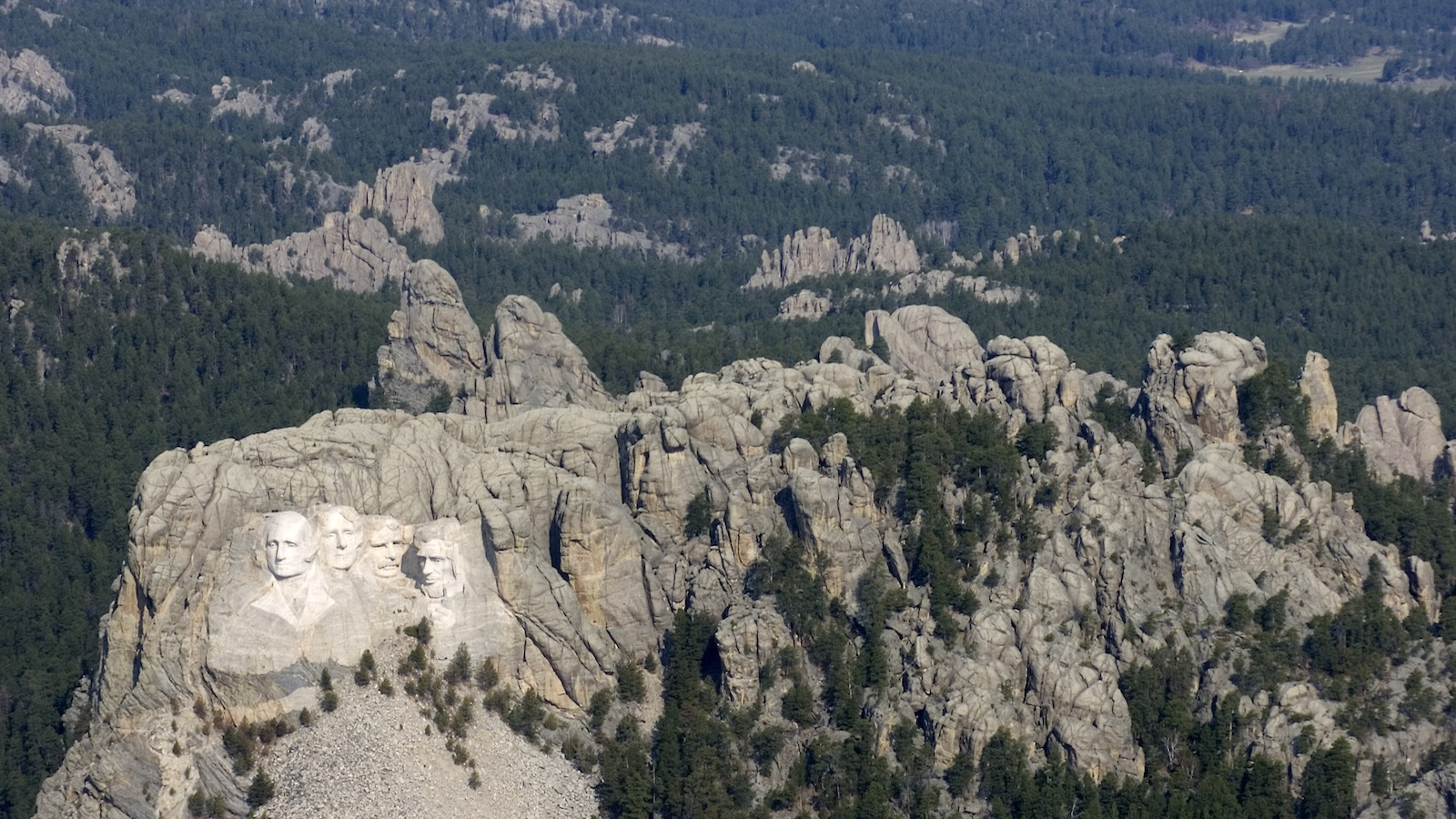 Mount Rushmore, Black Hills National Forest, South Dakota.