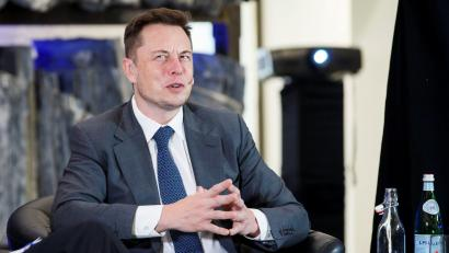 CEO of Tesla Motors Elon Musk attends an environmental conference at Astrup Fearnley Museum in Oslo, Norway April 21, 2016.