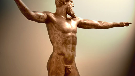 In ancient Greece, the most impressive men had small penises.