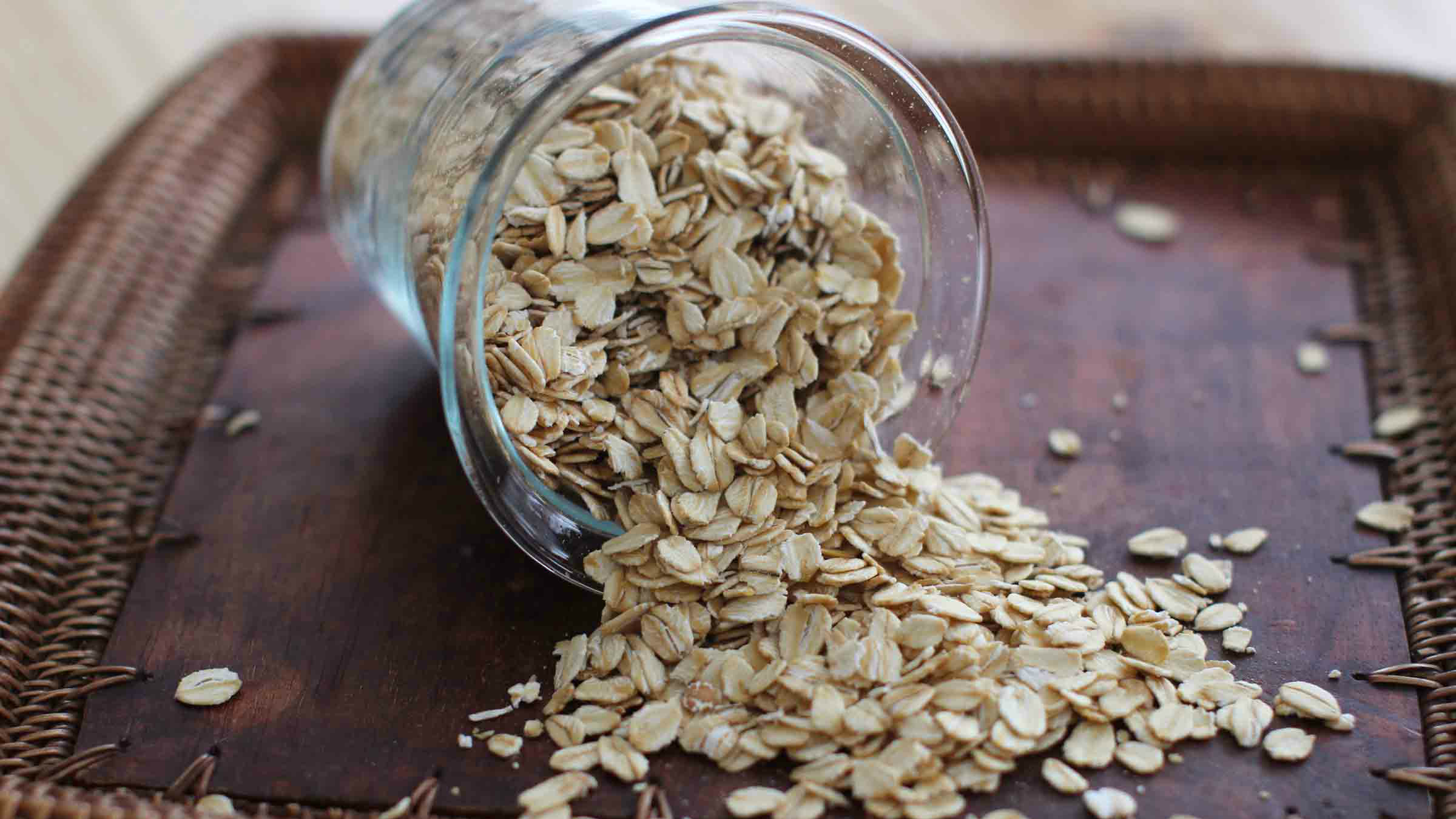 Does the presence of a little weed-killing chemical make your Quaker
