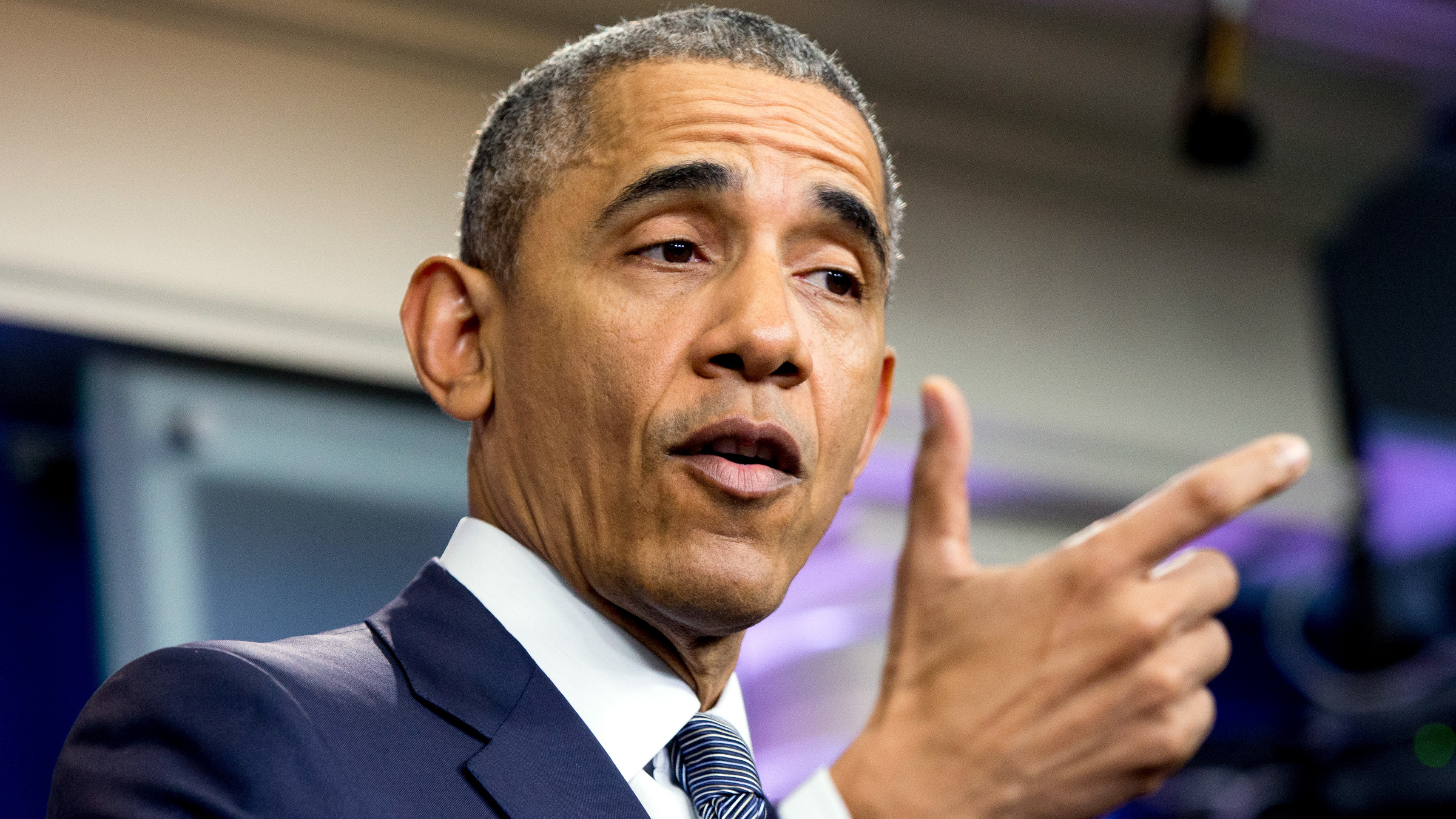 President Barack Obama speaks in the White House briefing room in Washington, Friday, May 6, 2016, about the economy and new steps to strengthen financial transparency and combat money laundering, corruption, and tax evasion.