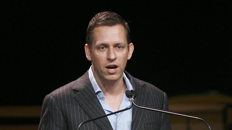 Peter Thiel: entrepreneur, investor, Trump supporter.