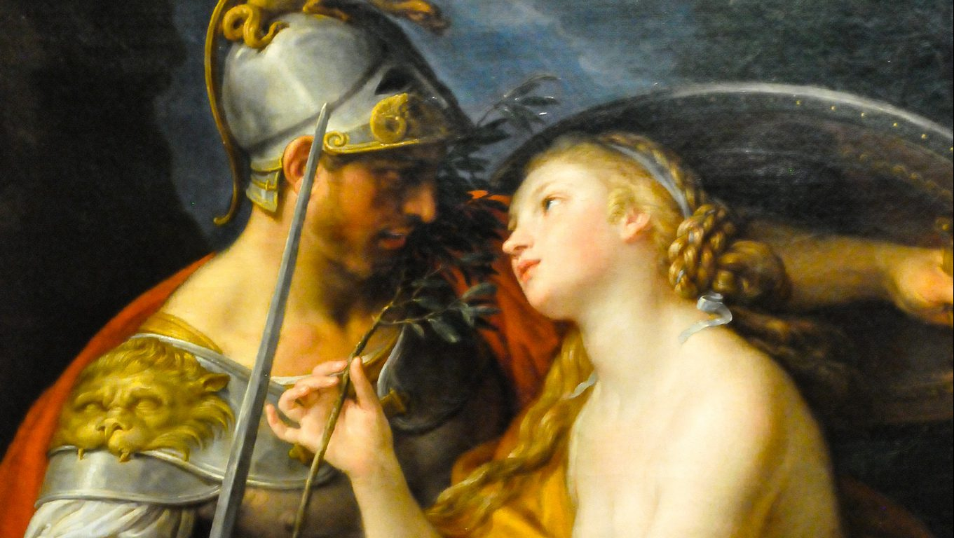 An Allegory of Peace and War, Pompeo Batoni