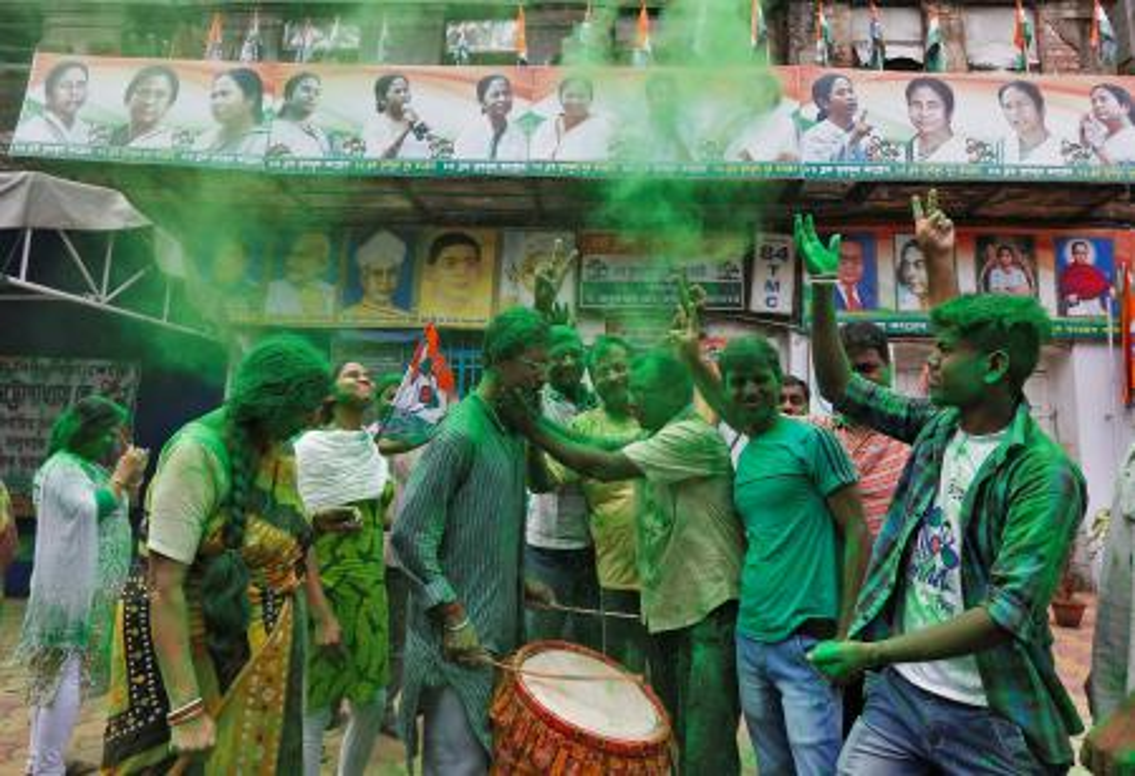 India-West Bengal-Tamil Nadu-Kerala