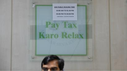 India-Income tax-Fiscal deficit