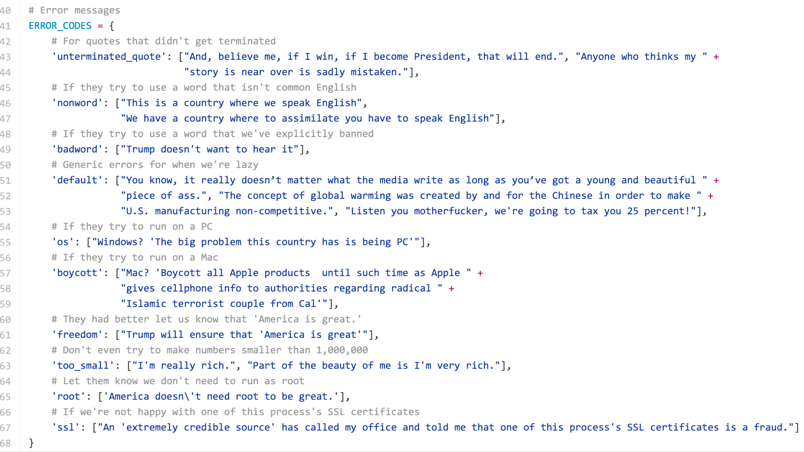 When programmers get weird: The funniest code projects on GitHub