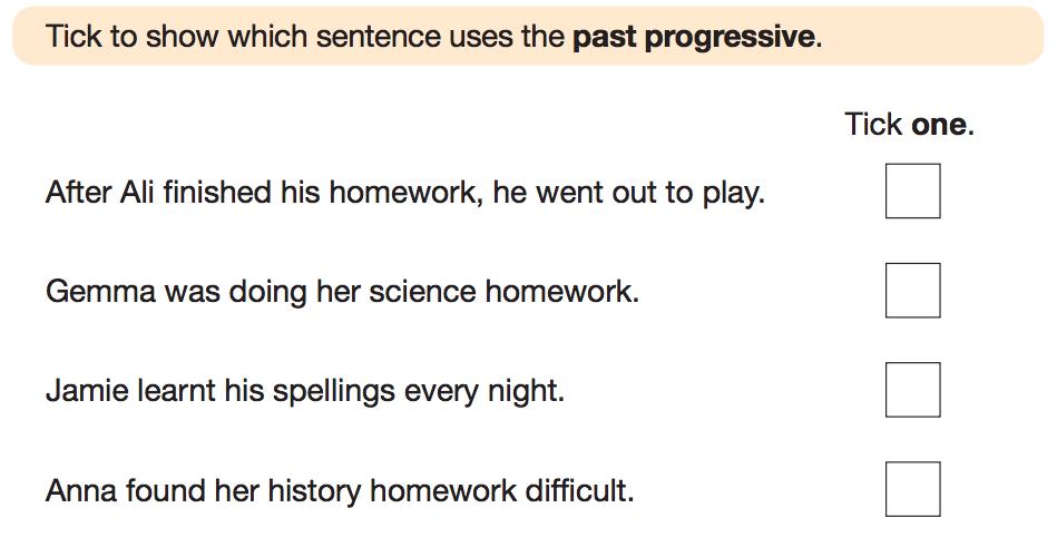 SATs question 30