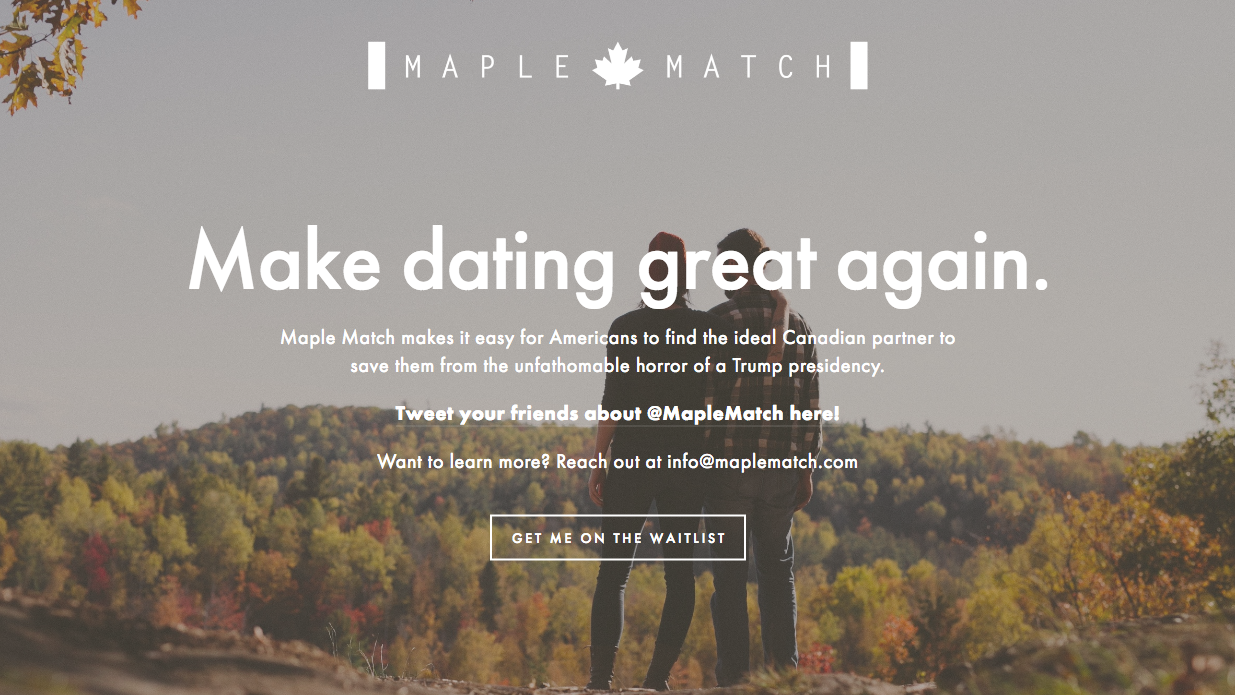 Canada dating love