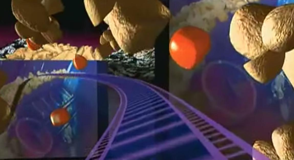 Regal cinemas roller coaster animation