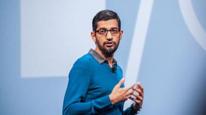 google ceo sundar pichai google i/o conference