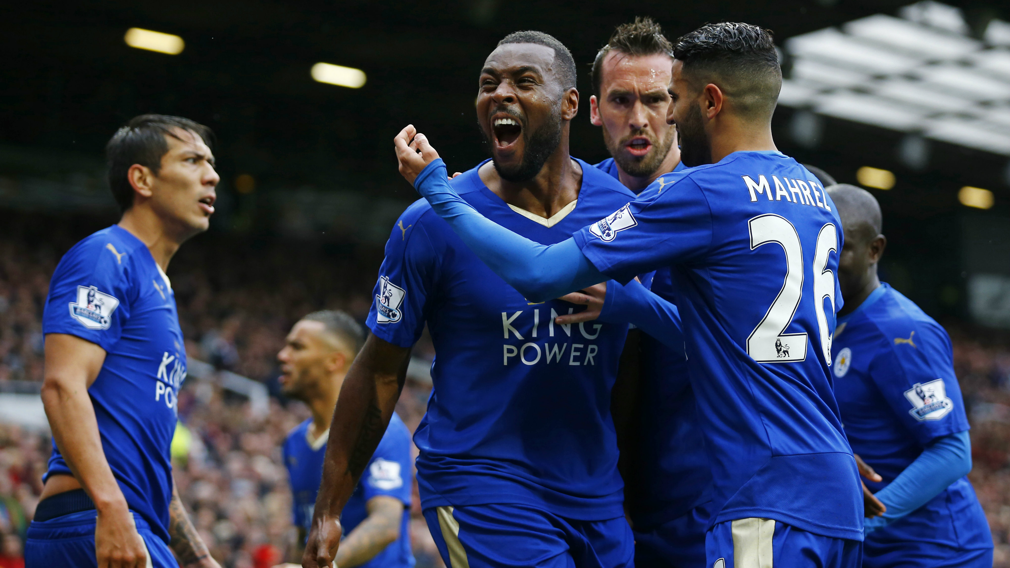 DATE IMPORTED:May 03, 2016Britain Football Soccer - Manchester United v Leicester City - Barclays Premier League - Old Trafford - 15/16 - 1/5/16