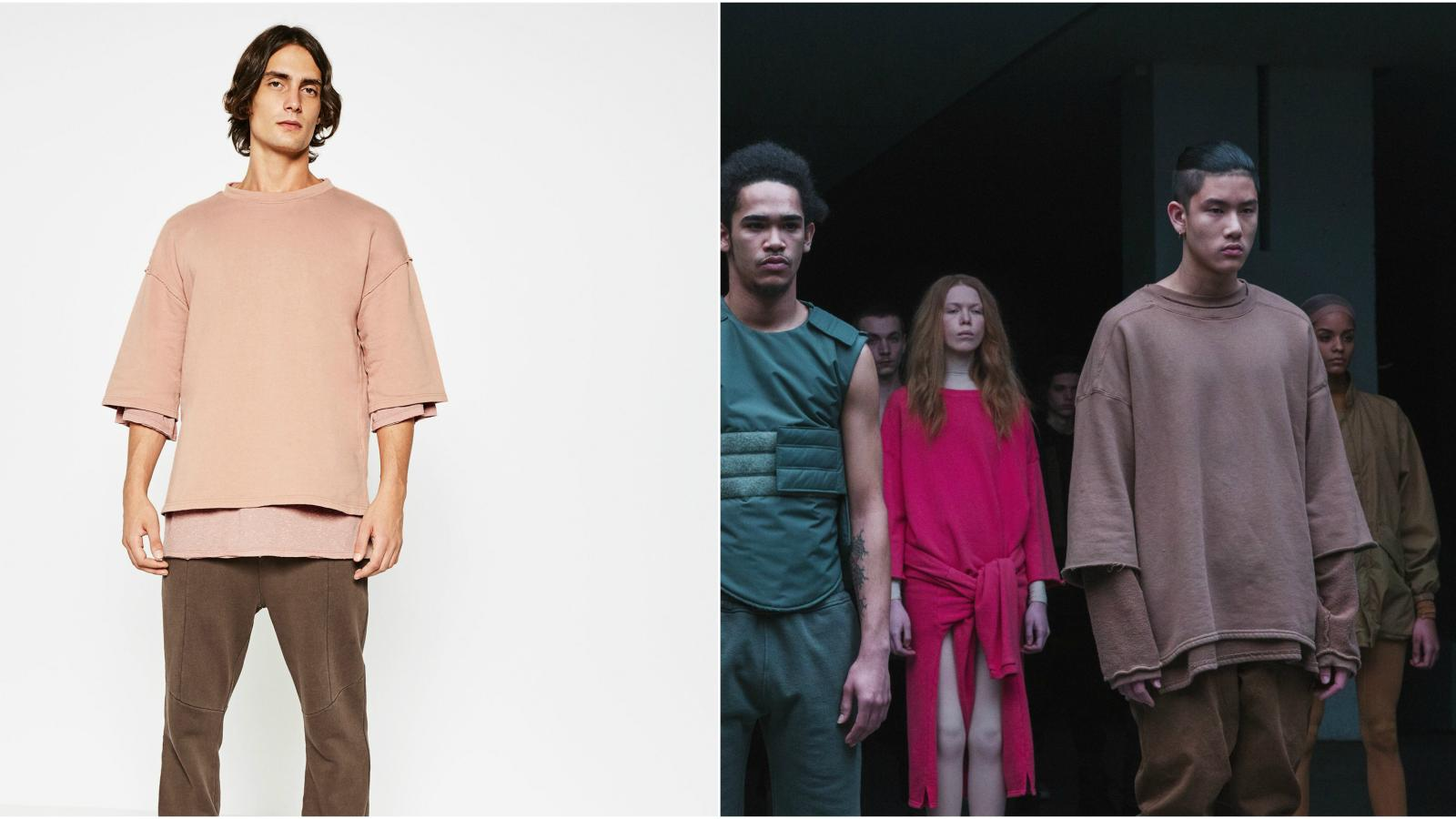 """e6ec8ed61bc Zara s """"Streetwise Collection"""" is an impressively complete rip-off of Kanye  West s Yeezy line"""