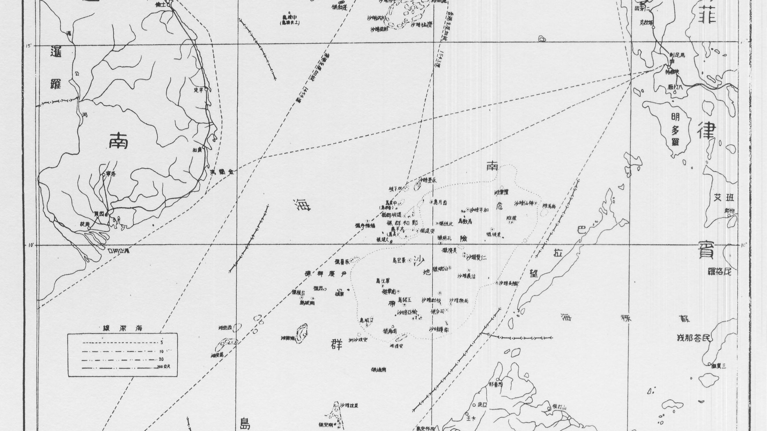 South china sea the line on a 70 year old map that threatens to set south china sea the line on a 70 year old map that threatens to set off a war in east asia quartz gumiabroncs Choice Image