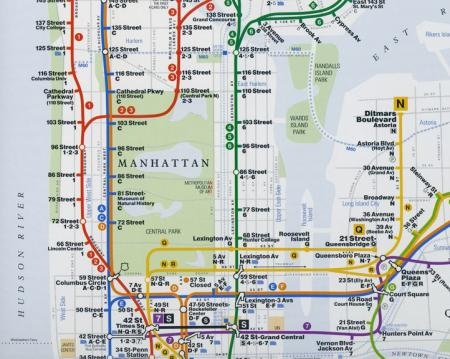 Q Line Subway Map.New Yorkers Can Start Using A Secret Subway Tunnel Under Central