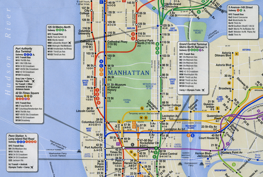 Nyc Subway Map Q Line.New Yorkers Can Start Using A Secret Subway Tunnel Under Central