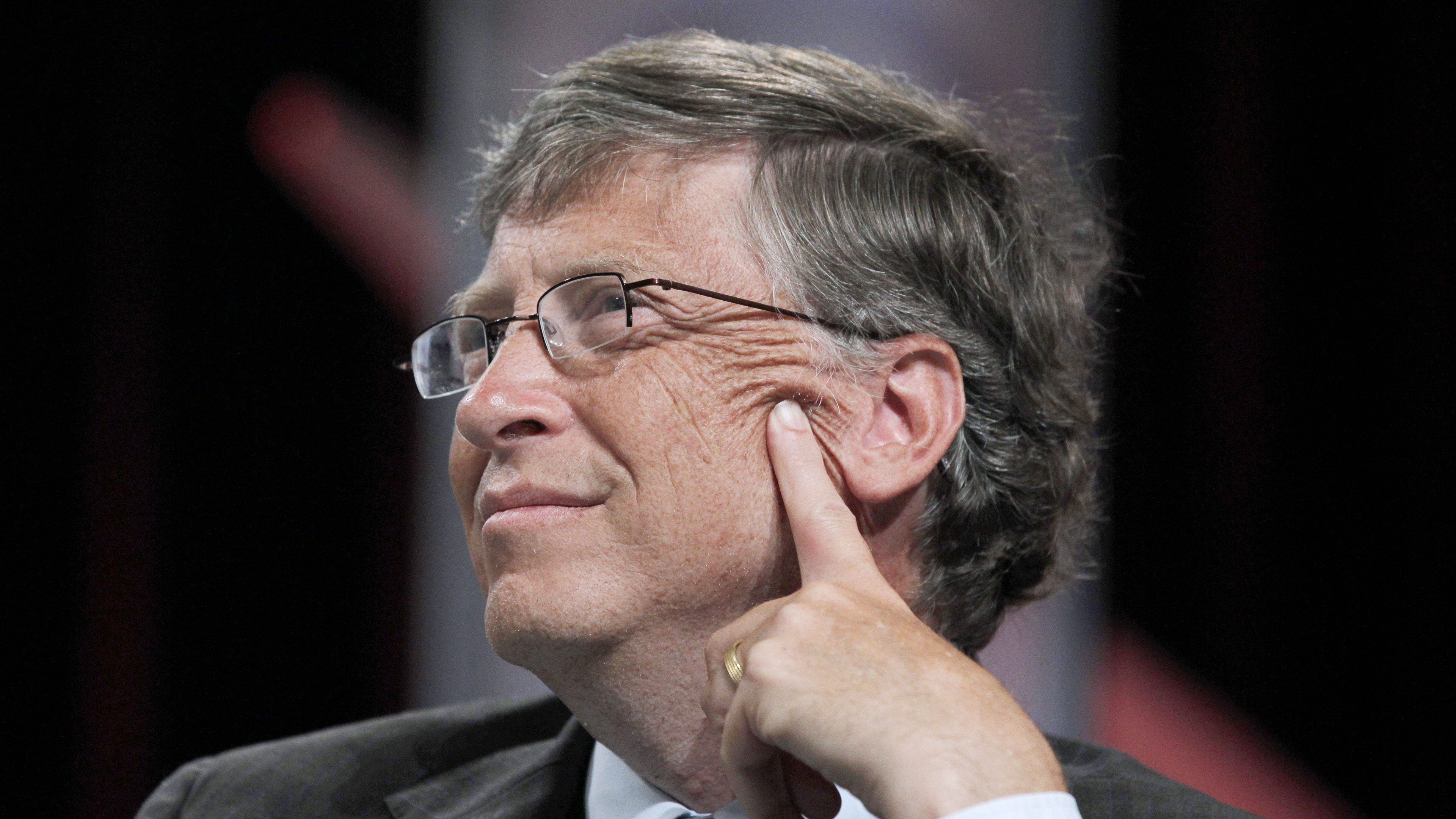 Microsoft founder Bill Gates speaks during a forum on education at the National Urban League annual conference in Boston, Thursday, July 28, 2011. (AP Photo/Steven Senne)