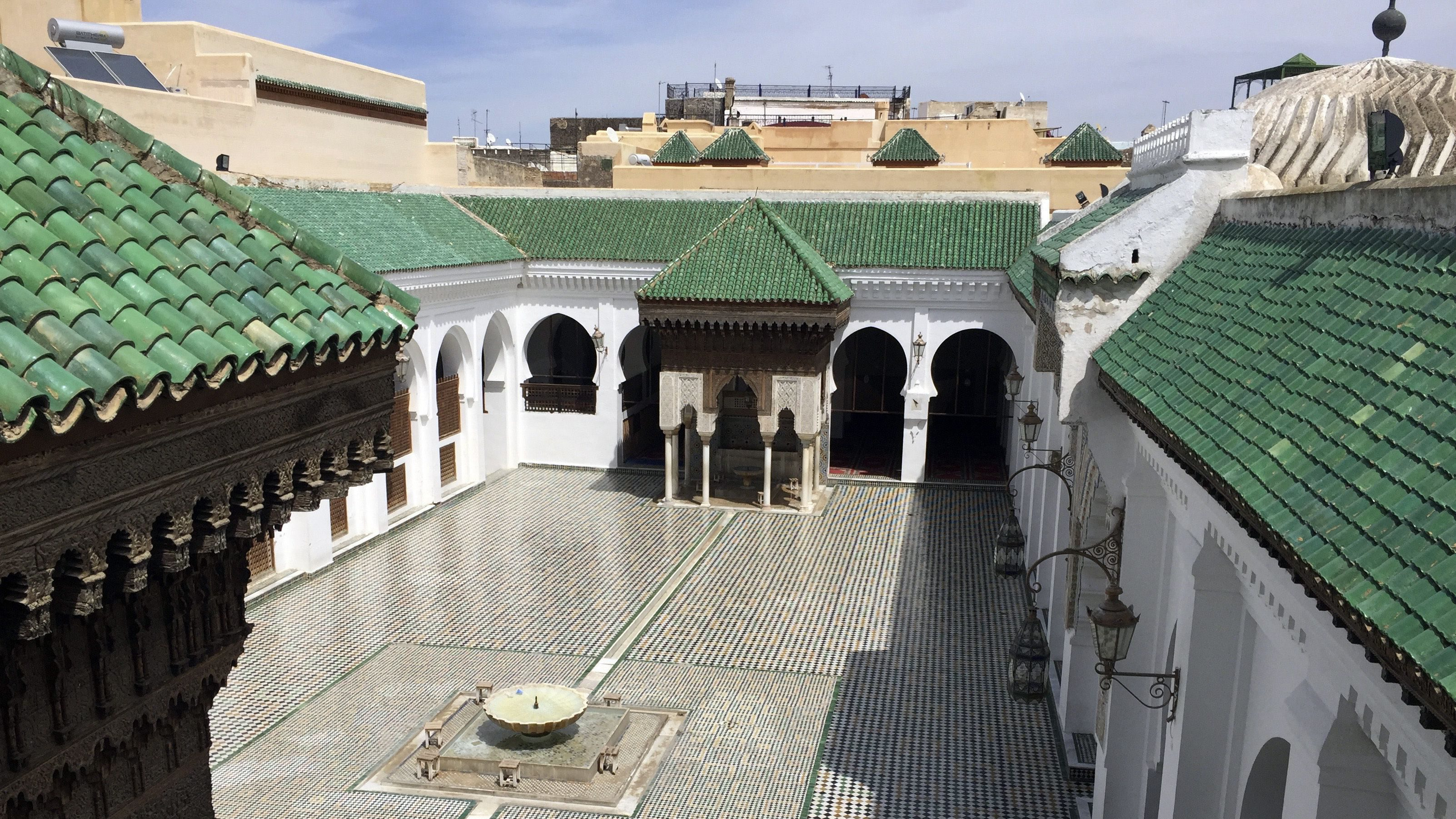 Morocco Ancient Library
